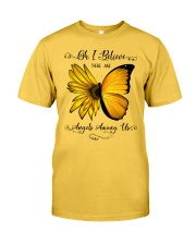 Oh I Believe There Are Angels Among Us Sunflower Classic T-Shirt front
