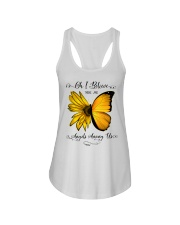 Oh I Believe There Are Angels Among Us Sunflower Ladies Flowy Tank thumbnail
