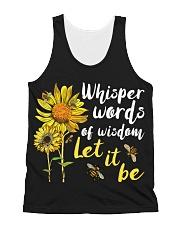 Whisper Words Of Wisdom Let It Be All-over Unisex Tank thumbnail