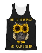 Hello Darkness My Old Friend All-over Unisex Tank thumbnail