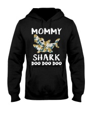 Mommy Shark Hooded Sweatshirt thumbnail
