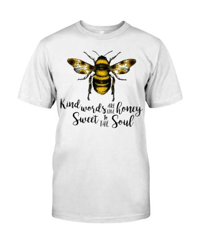 Kind Words Are Like Honey Sunflower Bee