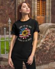 Because Of The Brave Classic T-Shirt apparel-classic-tshirt-lifestyle-06
