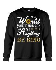 Be Kind Sunflower Crewneck Sweatshirt thumbnail