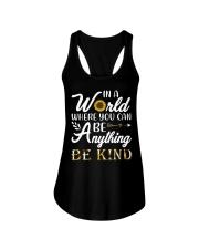 Be Kind Sunflower Ladies Flowy Tank thumbnail