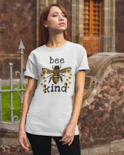 Bee Kind Sunflower Classic T-Shirt apparel-classic-tshirt-lifestyle-06