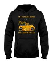 On A Dark Desert Highway Cool Wind In My Hair Hooded Sweatshirt thumbnail