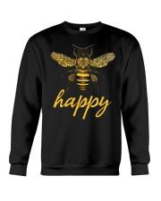 Bee Happy Crewneck Sweatshirt thumbnail