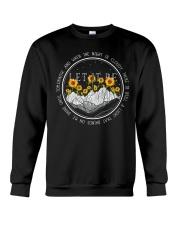 Let It Be Sunflowers Crewneck Sweatshirt thumbnail