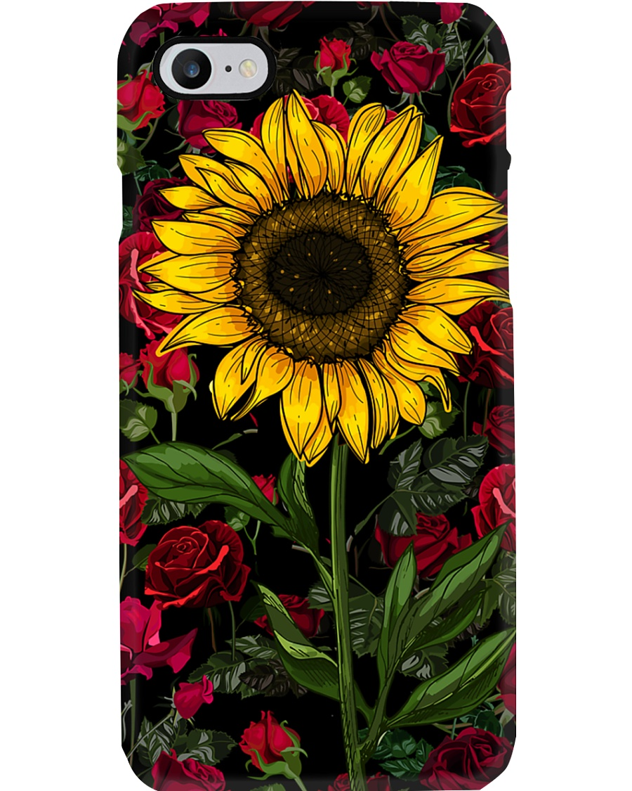 Sunflower And Roses Phone Case