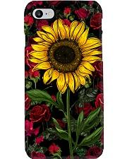 Sunflower And Roses Phone Case i-phone-8-case