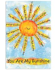 You Are My Sunshine 16x24 Poster front