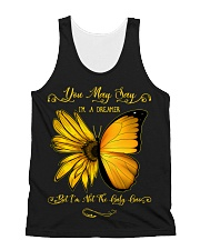 You May Say I'm A Dreamer All-over Unisex Tank thumbnail