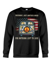 Freedom Hippie Sunflower Crewneck Sweatshirt thumbnail