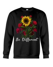 Be Different Sunflower And Roses Crewneck Sweatshirt thumbnail