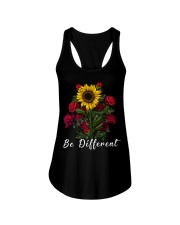 Be Different Sunflower And Roses Ladies Flowy Tank thumbnail
