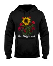 Be Different Sunflower And Roses Hooded Sweatshirt thumbnail