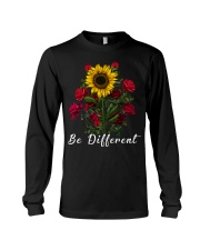 Be Different Sunflower And Roses Long Sleeve Tee thumbnail