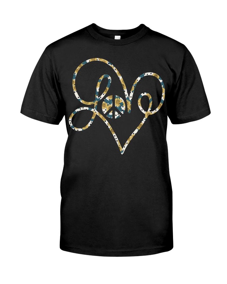 Love Sunflower Classic T-Shirt