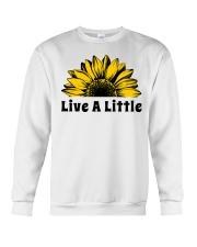 Live A Little Sunflower Crewneck Sweatshirt thumbnail