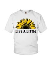 Live A Little Sunflower Youth T-Shirt thumbnail