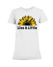 Live A Little Sunflower Premium Fit Ladies Tee thumbnail