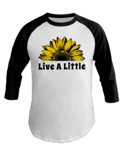 Live A Little Sunflower Baseball Tee thumbnail