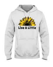 Live A Little Sunflower Hooded Sweatshirt thumbnail
