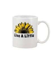 Live A Little Sunflower Mug thumbnail