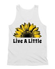 Live A Little Sunflower All-over Unisex Tank thumbnail