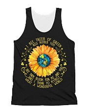 What A Wonderful World All-over Unisex Tank thumbnail