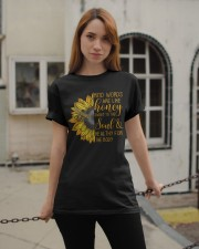 Kind Words Are Like Honey Classic T-Shirt apparel-classic-tshirt-lifestyle-19
