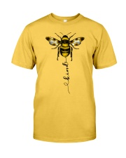 Bee Kind Sunflower Classic T-Shirt front