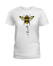 Bee Kind Sunflower Ladies T-Shirt thumbnail