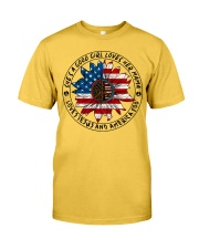 She's A Good Girl Loves Her Mama Sunflower Classic T-Shirt front