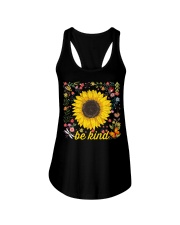 Be Kind Hippie Sunflower Ladies Flowy Tank thumbnail
