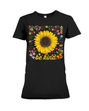 Be Kind Hippie Sunflower Premium Fit Ladies Tee thumbnail