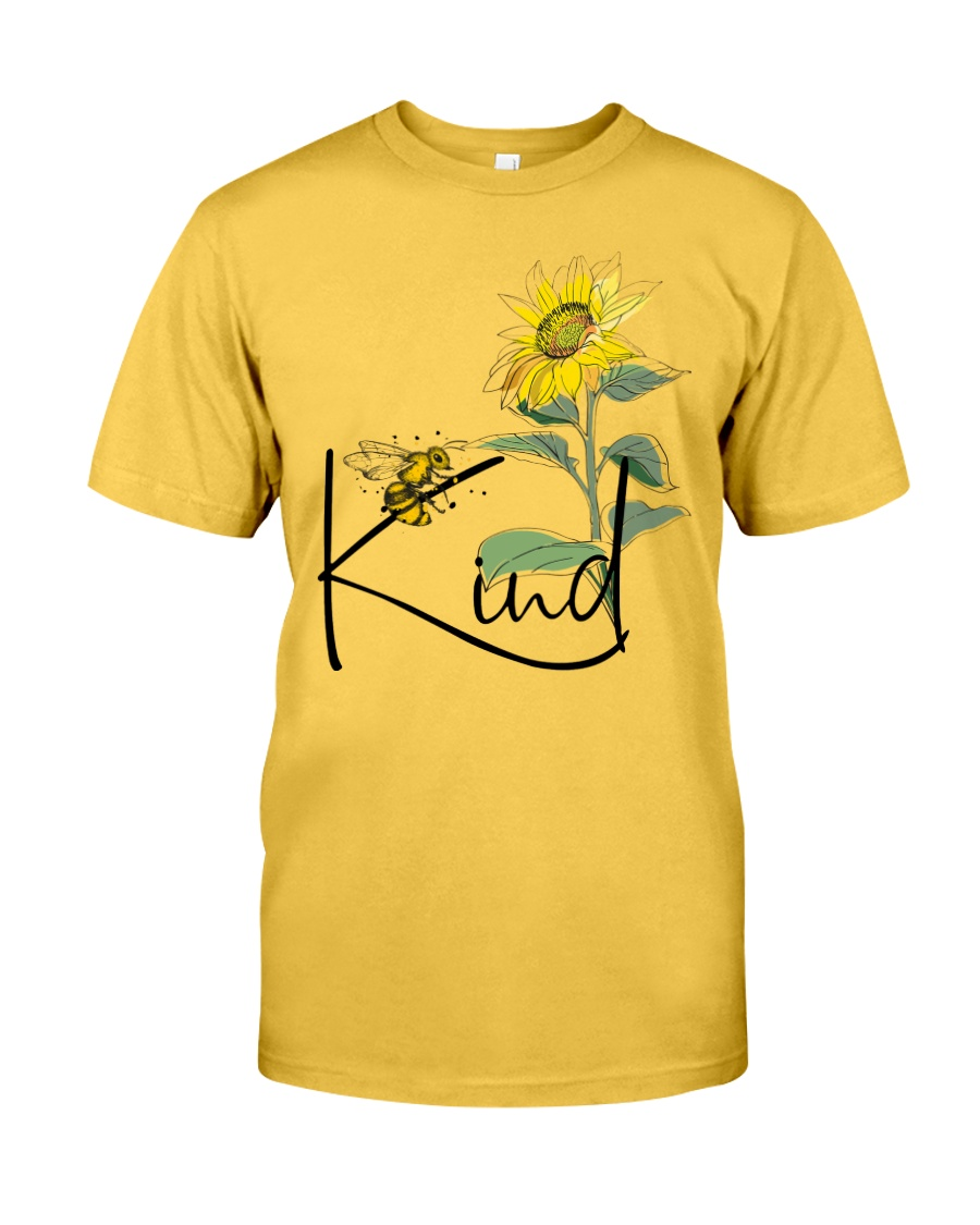 Bee Kind Sunflower Classic T-Shirt