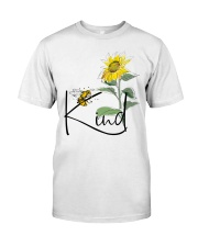 Bee Kind Sunflower Classic T-Shirt tile