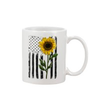 American Flag Sunflower No2 Mug thumbnail