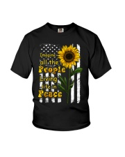 Imagine All The People Living Life In Peace Youth T-Shirt thumbnail