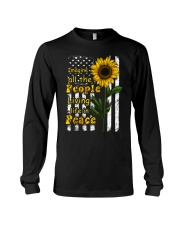 Imagine All The People Living Life In Peace Long Sleeve Tee thumbnail