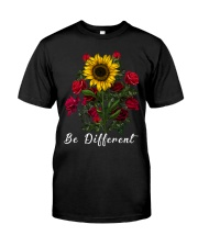Be Different Sunflower Classic T-Shirt front