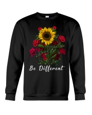 Be Different Sunflower Crewneck Sweatshirt thumbnail