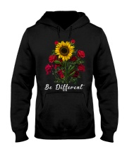 Be Different Sunflower Hooded Sweatshirt thumbnail