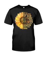 She Is A Daughter Of God Classic T-Shirt front