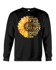 She Is A Daughter Of God Crewneck Sweatshirt thumbnail