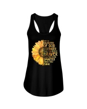 She Is A Daughter Of God Ladies Flowy Tank thumbnail