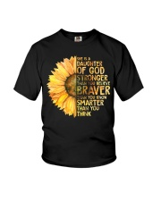 She Is A Daughter Of God Youth T-Shirt thumbnail