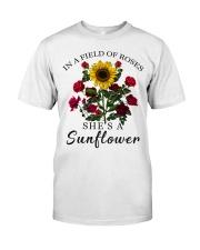 She's A Sunflower Classic T-Shirt tile